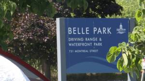 City of Kingston begins removal of temporary services at Belle Park