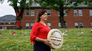 Chief demands apology from Catholic Church over Canada's residential schools (02:01)
