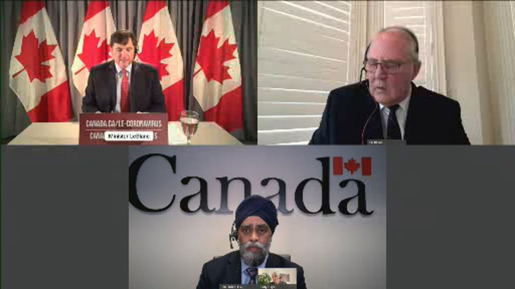 Click to play video: 'COVID-19: Feds coordinating sending health-care staff from provinces to Ontario amid surge in cases, hospitalizations'