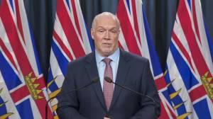 Coronavirus outbreak: Premier Horgan on return of the B.C. legislature, school