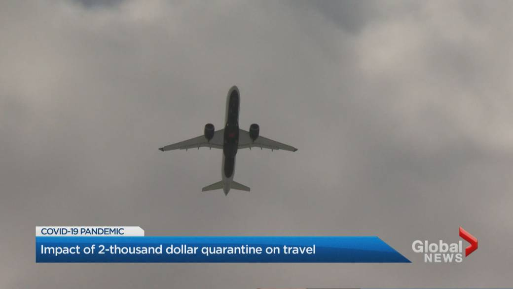 Click to play video 'Coronavirus: Federal government makes foreign travel tougher'