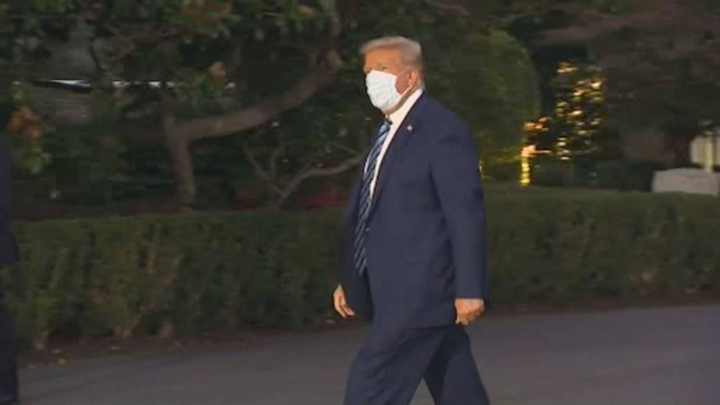 Click to play video 'Trump returns to campaigning after COVID-19 diagnosis'
