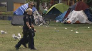 Growing safety concerns about Oppenheimer Park tent city