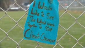 Seaton Secondary students raise awareness of climate action plan (01:42)