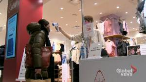 Shoppers rejoice as non-essential stores reopen in Quebec (02:02)
