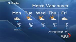 Global News at 6pm Weather