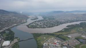 Heavy rainfall and rising river levels fueling B.C. flood fears