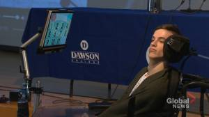 Dawson College alumnus with cerebral palsy making a difference