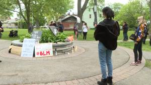 BLM vigil organizer says people in Kingston's Black community deal with racism regularly