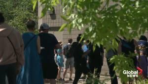 Increased demand for walk-in COVID-19 testing in Edmonton