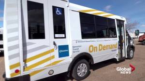 Free on-demand shuttles to accompany Edmonton's bus network redesign (01:52)
