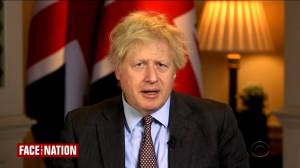British PM says US democracy 'strong,' won't comment on impeachment result (01:36)