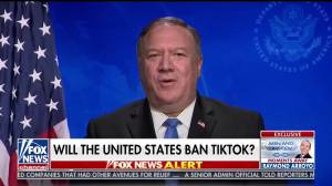 Pompeo says U.S. 'looking at' banning Chinese social media apps, including TikTok