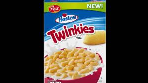 Julie and Bill sample the new Twinkies cereal