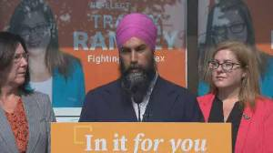 Federal Election 2019: Singh says NDP would put in place laws to allow municipalities to ban guns, target root causes of violence