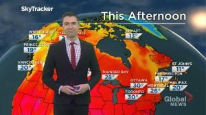 Saskatchewan weather outlook: July 17