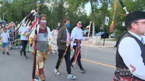 Hunger strike begins at Sask. legislature following 635-km suicide prevention trek