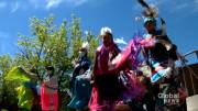 Play video: Canmore hospital becomes ceremony site for National Indigenous Peoples Day