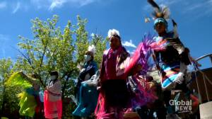 Canmore hospital becomes ceremony site for National Indigenous Peoples Day (01:45)