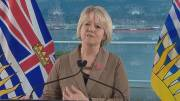 Play video: Dr. Bonnie Henry defends comments about RCMP