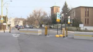 Concrete roadblocks have Rosemont residents seeing red over traffic calming measures (02:06)