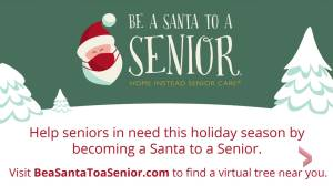 Make Christmas extra special this year through the Be a Santa to a Senior Program (05:01)