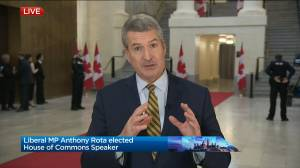 What led to Anthony Rota being elected the new Speaker of the House?
