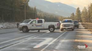 Police incident closes Highway 97 near Westwold, B.C.