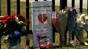 Nova Scotians reflect six months after mass shooting (02:13)