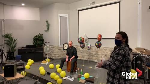 Moose jaw resident drums his way towards Guinness World Record | Watch News Videos Online