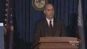 FBI provides details of Ghislaine Maxwell's arrest in New Hampshire (01:25)