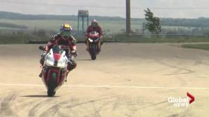 Edmonton-area motorcyclists encouraged to take it to the track amid increase in collisions (01:33)