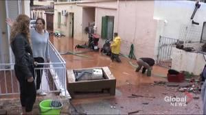Greece's Crete island faces chaos following heavy floods (05:27)