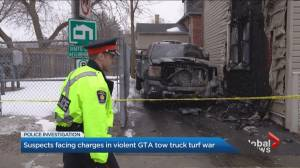 Police arrest 20 tow-truck drivers allegedly involved in violent GTA turf war
