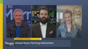 Checking in with Global Edmonton's Kent Morrison