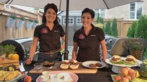 BBQ masters share tips for grilling burgers