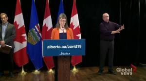 Dr. Hinshaw clarifies inaccuracies in previous COVID-19 update in Alberta