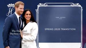Prince Harry, Meghan Markle drop the word 'Royal' from future branding (02:16)