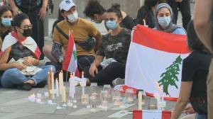 Vancouverites hold vigil for Lebanese explosion victims