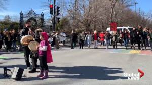 Protesters block Halifax intersection in solidarity with Wet'suwet'en