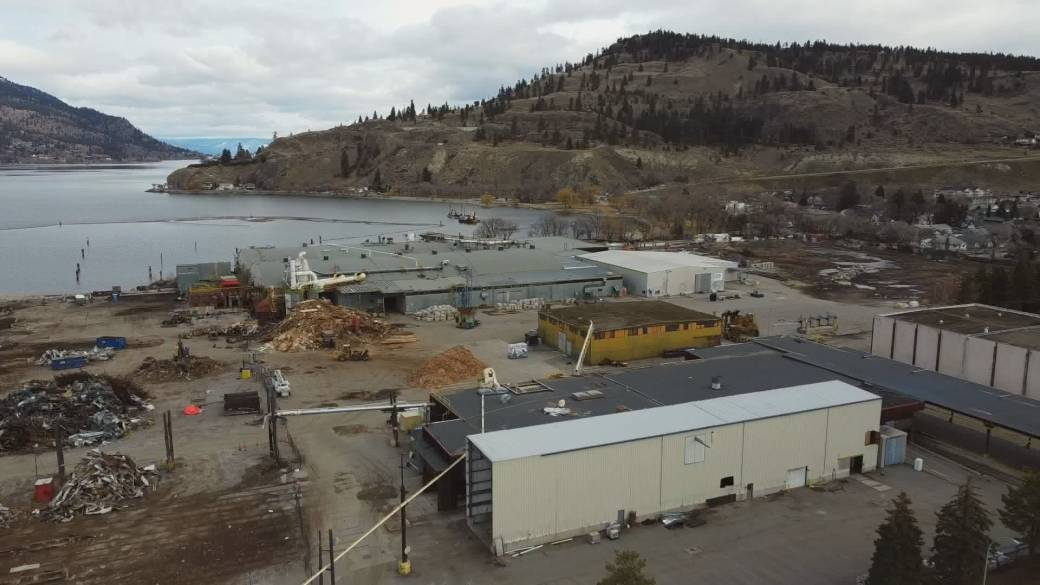 'Future of erstwhile  mill tract  successful  Kelowna's northbound  extremity  inactive  up   successful  the air'