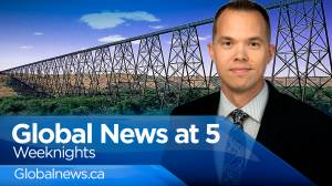Global News at 5 Lethbridge: Oct 4 (10:15)