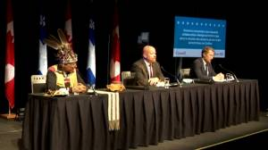 Quebec, Ottawa name facilitator to help communities with residential school searches (02:12)