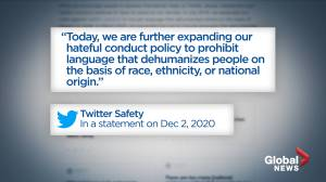 Twitter updates hate speech rules to include race and ethnicity (02:16)