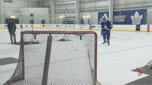 Toronto Maple Leafs hit the ice with new faces