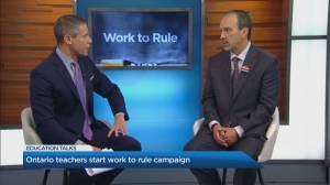 What does a work-to-rule campaign mean for students and parents?