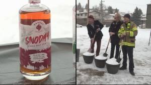 Owners break ground on new distillery in Okotoks