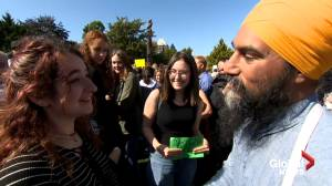 Federal Election 2019: Singh campaign joins climate strike in Victoria