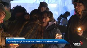 Homeless Camp Vigil