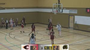 Three-peat without a defeat: Dartmouth Spartans girl's basketball team goes undefeated again (05:51)